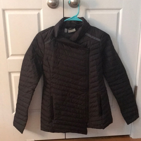 Athleta Jackets & Blazers - asymmetric zip athleta puffer jacket